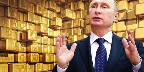 Russia Bought Nearly as Much Gold as All the Rest of the World Combined in 2018