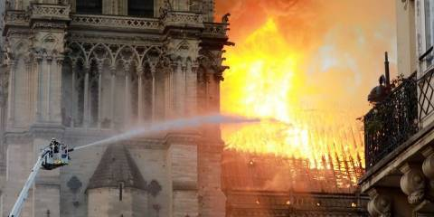 Internet Erupts With Speculation About Who Started Notre Dame Fire