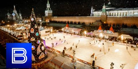 Russians LOVE Christmas Light Displays - Moscow's Extravagance Exceeds Anything in the West