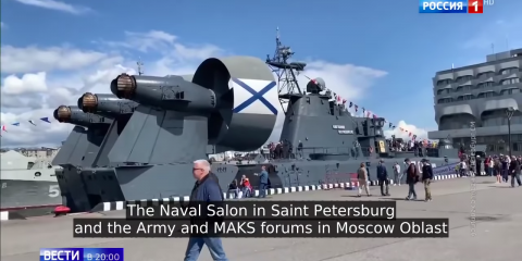 Russia's Massive Military Industry Exporting at Record Levels, Sanctions Not Working (Russian TV News)
