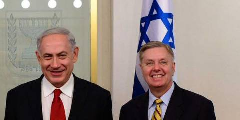 Infinity War: Netanyahu Wants 'Mutual Defense' With US; Trump, Graham Eager to Oblige Their Master