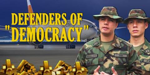 US Media Pulls Out All Stops; Fake Army Defectors, Russian Mercs, Plane-Loads of Gold