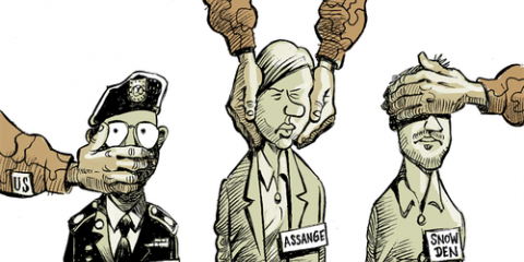 Secret Indictment Against Assange for Exposing Crimes of US Espionage Apparatus