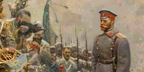 GREAT RUSSIAN ART - 'The Tsar's Cavalry' (Pavel Ryzhenko, 2004)