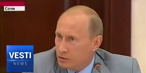 Great Classic Putin Video - Loses His Temper at the Shameless Lying of the Western Media About the 2008 Georgian War