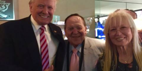 Trump's Reason for Seeking Conflict With Iran? - Sheldon Adelson's $177 Million
