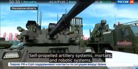 Russian Defense Industry Is Booming, Hosts Defense Ministers from 40 Countries at Huge Fair (Russian TV News)