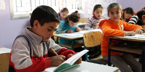 Thousands of Young Syrians Opt to Study Russian at School