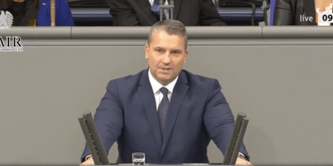WATCH: Furious Speech by Top German on Rampant Migrant Crime: 'You Allowed War Machines intoOur Country!'