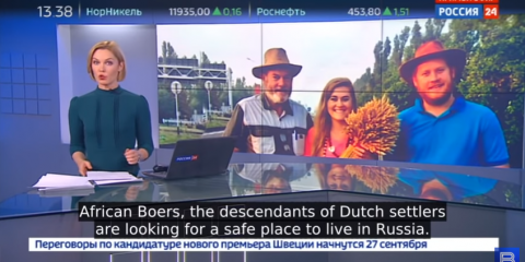 White Afrikaners Moving to Russia, Fleeing South African Genocide (VIDEOS)