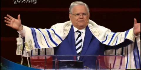 SHOCK: Watch Top Protestant Leader Hagee Heap Praise on Israel at US Embassy Opening