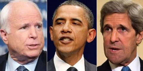 Маккейниаки, ОбамаКерри и РораБрэдли: Кто разыгрывает между собой пост следующего президента США