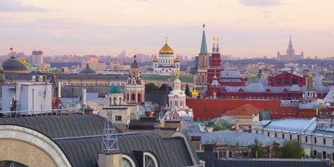 Moscow Wins Coveted International Award for Best Travel City After 10-Year-Long Renovation Program