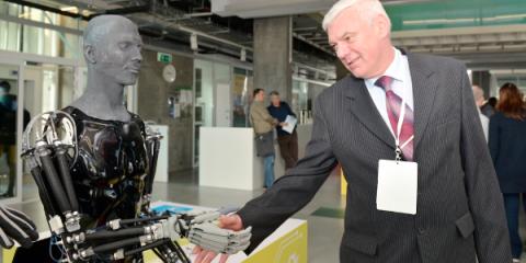 File photo of the third Skolkovo Robotics International Conference in March 2015 | Photo: Skolkovo