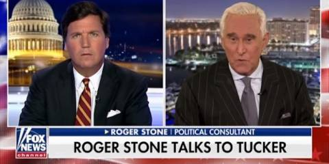 Roger Stone's First Interview After FBI Arrest: 'This Is a Full-Fledged War on Alternative Media'