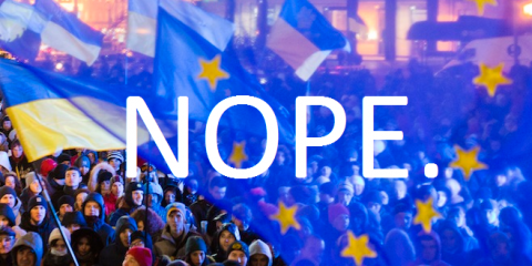 'Euro-Maidan' just got a bit less 'Euro'