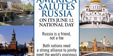 Америка и Россия — друзья, не враги и должны, объединив усилия, бороться с угрозами мировой безопасности