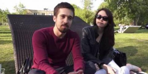 Мы говорили с людьми, которые встречались нам в парке