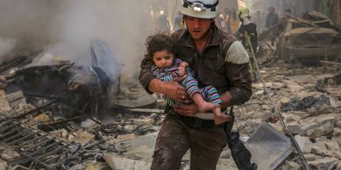 Beware of White Helmets Bearing News