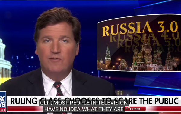 MUST WATCH: Tucker Carlson's Take on Russiahoax! 3.0 Starring 'The Bern' Is Spot On - US Elites Have Destroyed America, Clinging to Power by Any Means