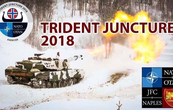 Trident Juncture 2018 Is Kicks Off: NATO's Big War Games Near Russia's Borders Never End