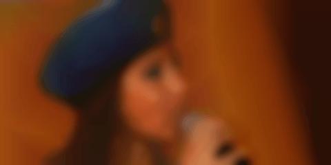Russian Beauty Sings Patriotic Favorite - Audience Loves It and Sings Along (Video)