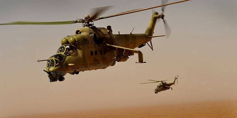 The US even paid India to hand over four of its Russian-built Mi-24 helicopter gunships to Afghanistan last year