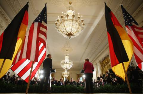 The strengthening of German influence has necessitated that Russia, the United States and some other countries more intensively lobby their interests in Europe through Germany, which, in turn, had to learn to articulate and defend its national position