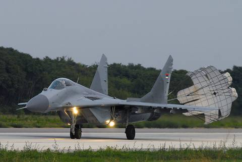 First new planes for Serbia since 1987 which lost a number of MiG-29s in the 199