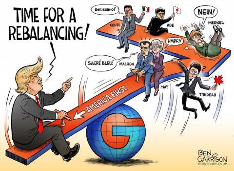 Image result for merkel trump cartoon