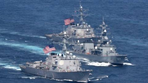 US Navy Sails up Right to Russia's Main Pacific Fleet Base in 'Freedom of Navigation' Provocation