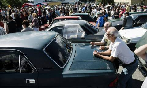Finland Auctions off Soviet-Era Cars Ditched by Asylum Seekers