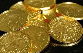 St. George gold coins issued by the Central Bank of Russia