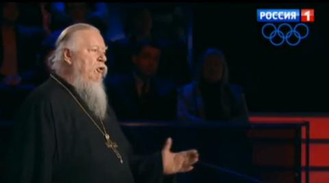 Democracy Is Fraud! - We Need Monarchy! - Hugely Popular Russian Priest on Top TV Show (Dmitry Smirnov)
