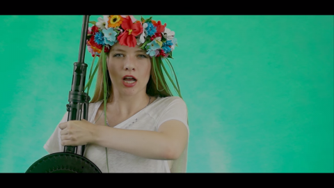WATCH: Great Pop Mega-Hit Reflects Christian Nationalist Mood in Russia (Rossiya Mama)