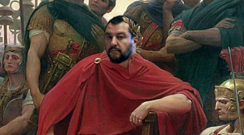 Hail Salvini: Glorious New Caesar Swears to Free Italy From Gaulish Financial Slavery