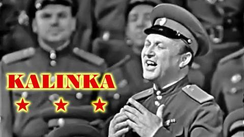 The Best 'Kalinka' Ever Recorded - Red Army Chorus Sings WW2 Favorite - 1965