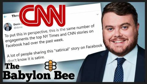 The Fat Schmuck at CNN in Charge of Reporting on 'Dishonesty in the Media', Yes, Seriously – Donie O'Sullivan