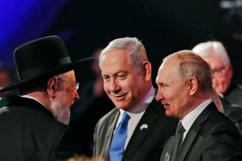Putin Grovels in Israel About a 'Holocaust' that Never Happened, In Front of a People Who Genocided the Russians