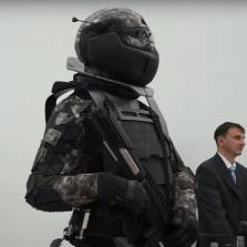 Russia Unveils Soldier Of The Future - 'Predator' Guns And Electrified Shields