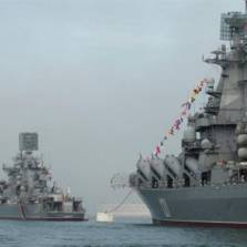 Russian Warships Are Initiating Offensive Stances in Preparation of Potential Military Conflict