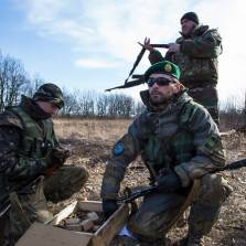 Чеченские джихадисты сражаются бок о бок с Правым сектором на востоке Украины