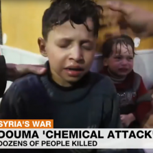 Boy in Douma 'Chem Attack' Video Says He Was Lured With Cookies, Then Sprayed With Water