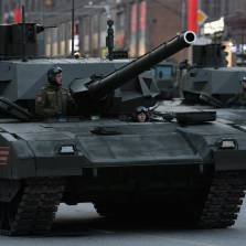 Armata T-14 during Victory Day Parade rehearsal in Moscow | Photo: Mikhail Voskresensky, Sputnik