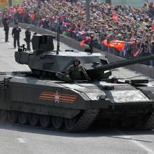 Russia's T-14 Is Already the Most Advanced Tank in the World, With a Massive New Gun It Would Reign Supreme Against Any Other