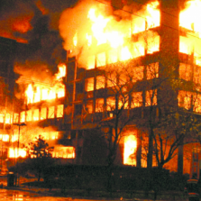 What about this explosion? It happened in Belgrade. Maybe you remember.