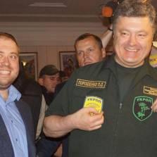 Петр Порошенко: да, ничего из обещанного не сделано, зато посмотрите какой на Украине взошел укроп!   Фото: facebook.com