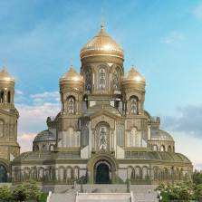 Russia's Military to Build a Giant Orthodox Christian Cathedral in Moscow