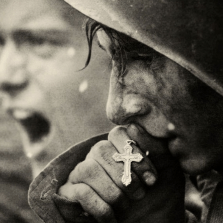 Russian soldiers preparing for the Battle of Kursk, July 1943