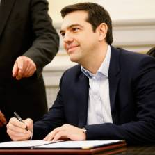 Syriza leader Alexis Tsipras says he wants closer ties to Moscow